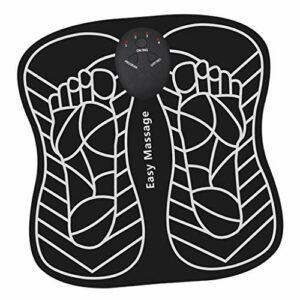 harayaa Le Musculaire Des Pieds de Coussin de Masseur de Pied électrique Améliore La Circulation Sanguine – Batterie