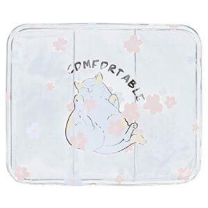 Jinyi Coussin de Refroidissement, Coussin de réduction de température Pratique Portable, Pratique pour Le Coussin de Refroidissement(Little Lazy Cat, Polar Animals)