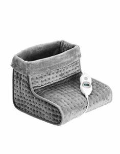 Lanaform Foot Warmer – Chauffe-pieds extra doux – Chauffage électrique avec 3 intensités