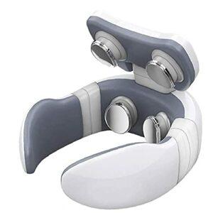 Machine de chauffage du cou de l'épaule de massage électrique analgésique rachis cervical massage blanc d'outil