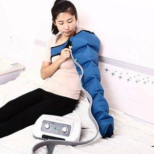 Masseur De Compression d'air Électrique À 6 Cavités, Pressothérapie Jambe Bras Taille Masseur Pression De Circulation Dispositif De Massage Pression