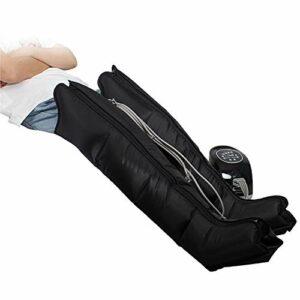 Masseur De Jambe À Compression d'air, Machine Relax Massage De La Circulation Sanguine 3 Modes Fonction De Synchronisation Rééducation Physiothérapie