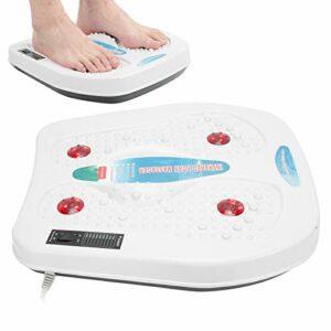 Masseur de Pieds Relxation, Massage en Profondeur des Pieds 3W Thermothérapie Soulager la Machine de Massage des Pieds de Massage, Hommes pour Femmes(Pink)