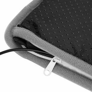 Qqmora Chauffe-Pieds Chauffant électrique Coussin Chauffe-Pieds d'hiver Confortable Amovible pour Un Usage Professionnel pour la Famille pour Un Usage Personnel Pratique