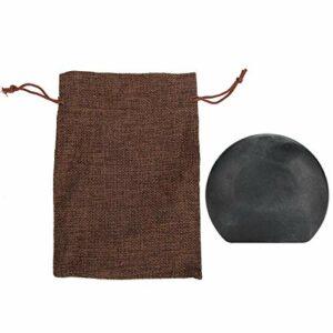 Qqmora Masseur de Points d'acupuncture en Pierre de Spa Chaud de grattage de Pierre de Jade pour favoriser la Relaxation