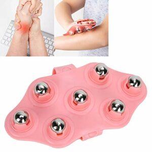 Rouleau de boule de massage, dragonne ergonomique réglable sur 3 niveaux, respectueux de la peau, boule de massage en TPE pour taille et bras minces pour embellir les fesses et les jambes