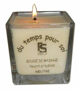 Storepil – Bougie de massage NEUTRE – Sans parfum – 210 g
