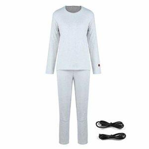 Vêtements chauffants électriques Sous-vêtements d'hiver Pratiques pour plus de confort