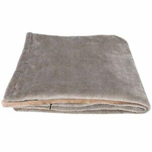 Annjom Couvertures, Flanelle Douce 4 Niveaux de Chauffage Couverture chauffante Chauffage Rapide Lavable en Machine pour la Maison pour Une Utilisation au Bureau