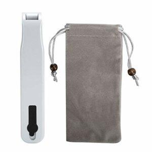 Applicateur de racine de cheveux, précision essentielle d'applicateur de cuir chevelu pour la croissance des cheveux pour la famille(Pearl White)