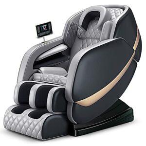 AYIYUN Fauteuil de massage multifonction pour tout le corps, avec Bluetooth, soulage la fatigue corporelle, convient pour la maison et le bureau.