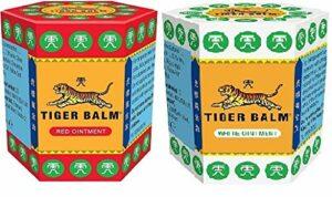 Baume du tigre 21 g | Baume du tigre (blanc + rouge)