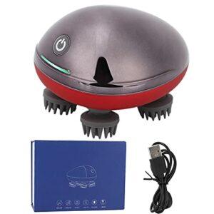 BOLORAMO Masseur électrique de tête de Cuir chevelu, Masseur de tête réglable pour Nettoyer et Masser Le Cuir chevelu Relaxant Le Cuir chevelu