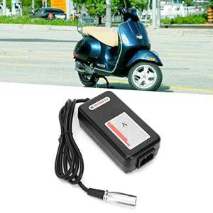 Brrnoo Chargeur de Batterie de Fauteuil Roulant, Scooter de Mobilité 24V 2A, Accessoire de Remplacement de Chargeur de Batterie de Fauteuil Roulant pour Personnes âgées(EU)