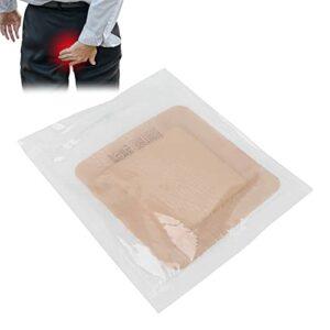 Brrnoo Pansement en Mousse Adhésive, Compresse Sacrée en Gel Rembourrage Hautement Absorbant Compresse de Pansement en Mousse Adhésive en Silicone(10 * 10cm)