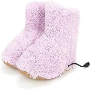 Chauffe chauffant Chauffage électrique Chaussures de chauffage électrique Pieds chauffants / bottes électriques pour femmes bottes chauffantes électriques peluche pieds chauds pour une utilisatio