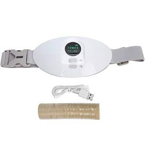Coussin de compresse chaude menstruelle, écran LCD coussin chauffant menstruel pour femmes pour réchauffer l'utérus pour la menstruation pour les filles