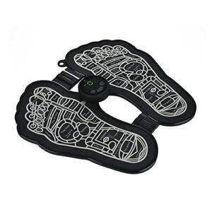 Coussin de massage de pied électrique, coussin de massage des pieds pliable, stimulateur musculaire des pieds, améliorer la circulation sanguine, soulager la douleur, les soins
