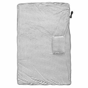 Couverture chauffante électrique portable pour hiver chaud doux pour la peau pour protéger l'épaule pour une utilisation au bureau pour une épaule chaude(light grey)