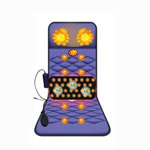 Damian-Sewing Coussins de Massage électriques Vibration avec Moteurs vibrants et Niveaux de Chaleur Coussin de Chaise de Massage, Massage pour Une Utilisation au Bureau à Domicile