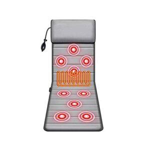 Damian-Sewing Tapis De Massage Complet du Corps,9 Moteurs de Massage par Vibration, Masseur Musculaire électrique pour soulager la Douleur, Coussin de siège de Massage Domicile