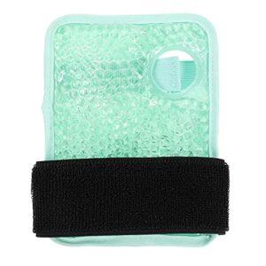 DOITOOL Gel Glace Froid Bracelet Portable Compresse Chaude Gel Sport Bracelet Réutilisables Accumulateurs de Froid pour Soulager La Douleur des Blessures de Premiers Soins Vert