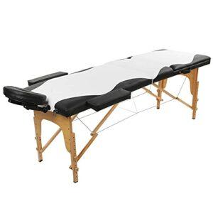 Équipement de massage, lit de spa de salon de table de massage léger portatif réglable en hauteur pour le salon à la maison