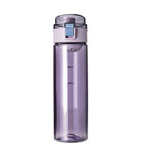 FPEH Bouteille d'eau en Plastique créative Poignée Portable Summer Sports EXTÉRIEURS ÉVERSABLE-BPA Purple