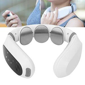 Gatuxe Masseur de Cou sans Fil, Pas Facile à Glisser ou à déplacer Masseur de Cou électrique 10 Modes de Massage pour la Plupart des Gens pour Le Cou