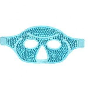 Gel Visage Couverture PVC Eyes Couvrir la thérapie chaude froide Couverture de migraine Couverture de migraine pour la relaxation Stress Douleur Soulagement Green