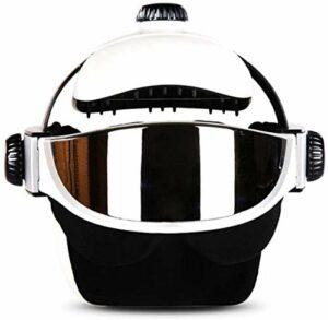 Hammer Rechargeable Head Massager, Eye Massager 2-in-1 électrique Casque de Massage avec la Chaleur, de Compression d'air, contrôle for Head Stress Relief