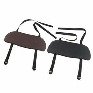Harilla 2 Pc Comfy Hanging Arm Rest Sling Board pour Table de Massage Salon Lit Réglable
