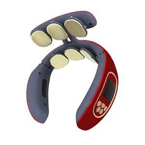 Hemoton Intelligente Cou Masseur Portable 4D Taille De Massage Des Tissus Profonds Chauffée Massage Du Dos Muscles Soulagement pour Cou Taille
