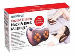 HJLGG Machine De Massage du Cou Et du Dos Assis Massage Électrique des Tissus De Pétrissage Profond Soulagement De La Douleur Musculaire Détendez-Vous Bureau De Voiture Et Maison 5301