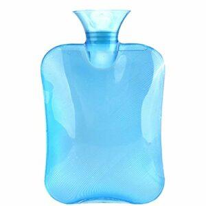 hot water bottle Sac durable eau chaude amovible et lavable épaissie Pvc Bouillotte rempli d'eau for garder Sac chaud eau réutilisable Bouteille Portable eau chaude Bouteille d'eau chaude