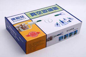 Kang Zhuci Lot de 24 canalisations chinoises – thérapie curative professionnelle. Kit de ventouses d'aspiration et d'aspiration. Massage des douleurs dorsales