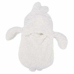 La bouillotte polyvalente pour l'hiver offre une température confortable par temps froid(White rabbit)