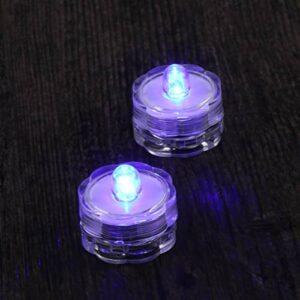 LIOOBO 2pcs sans Flamme LED Bougies Chauffe-Plats à Piles Bougies Chauffe-Plat à LED Bougies factices Bougies Chauffe-Plat pour Mariage Anniversaire fête Bar (Fleur de Prunier)