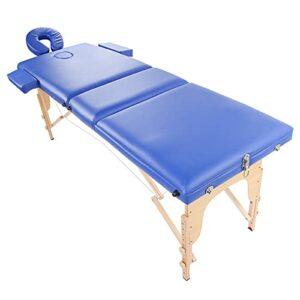 Lit de massage, Table de massage portable pliante Table de massage à hauteur réglable pour lit de massage pour salon de beauté