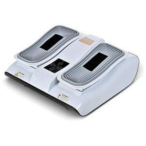 LLZH Machine de Masseur de Pied, thérapie électronique de Pied pour la fasciite Plantaire, la Machine de Masseur Pieds EMS soulage Les Pieds enflés et la Cheville