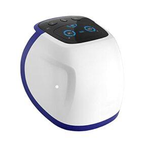 Massager du Genou, Masseur de Jambe de contrôle Tactile, Masseur de Vibrations Infrarouge Ajustables, avec Compression de l'airbag, thérapie vibrante, pour l'arthrose