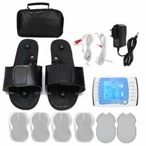 Masseur d'impulsions électronique, technologie de convertisseur en plastique, stimulateur de masseur d'impulsions sûr, pour le traitement adjuvant de la tension musculaire lombaire de