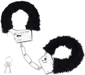 Menottes en peluche Forocean Seexy avec clés Costume de police accessoires accessoires de fête pour bel ami