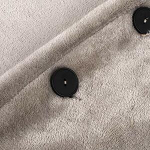 Qinyayoa Couverture chauffante électrique, couvertures lavables en Machine Portables en Flanelle Douce 4W avec contrôle précis de la température pour Le réchauffement du Corps Entier pour la Maison