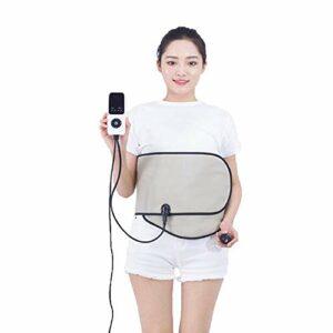 QLIGHA Infrarouge lointain Palais Chaud Chaud Ceinture réglable Ceinture chauffante électrique Massage de la Taille avec Ceinture chauffante Massage 10 réglages