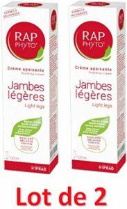 RAP PHYTO crème Jambes légères 100ml lot de 2