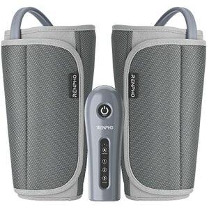 RENPHO Masseur jambes , Masseur des mollets avec 3 modes et 3 intensités, Masseur des cuisses adaptables à la plupart des gabarits pour la relaxation des pieds et le soulagement des douleurs