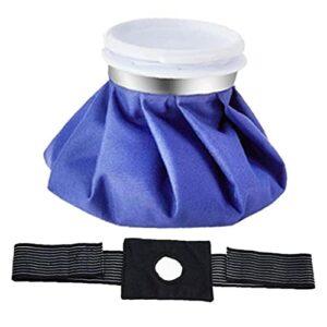 Sac de glace chaude paquet de douleur de la douleur réutilisable Pack de physiothérapie avec enveloppe élastique 6 pouces