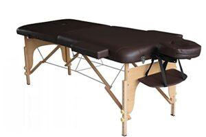 Table de massage pliante 186x70cm chocolat