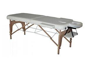 Table de massage pliante 186x71cm blanche